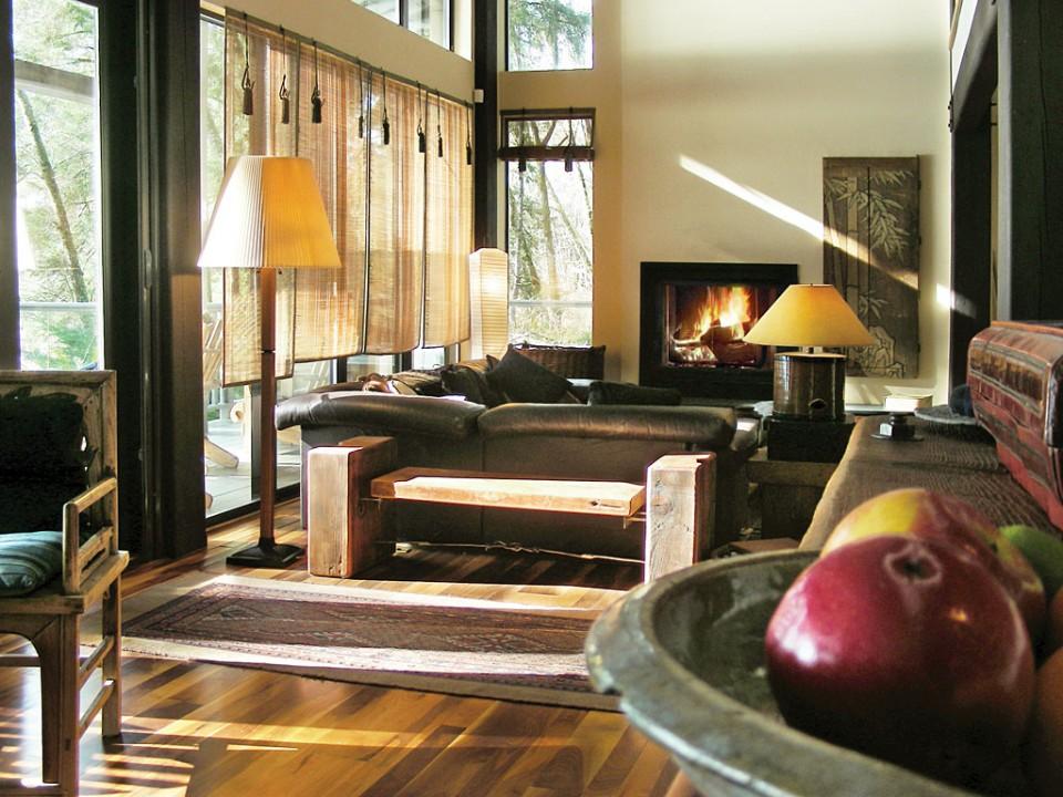 point no point resort bridge house interior