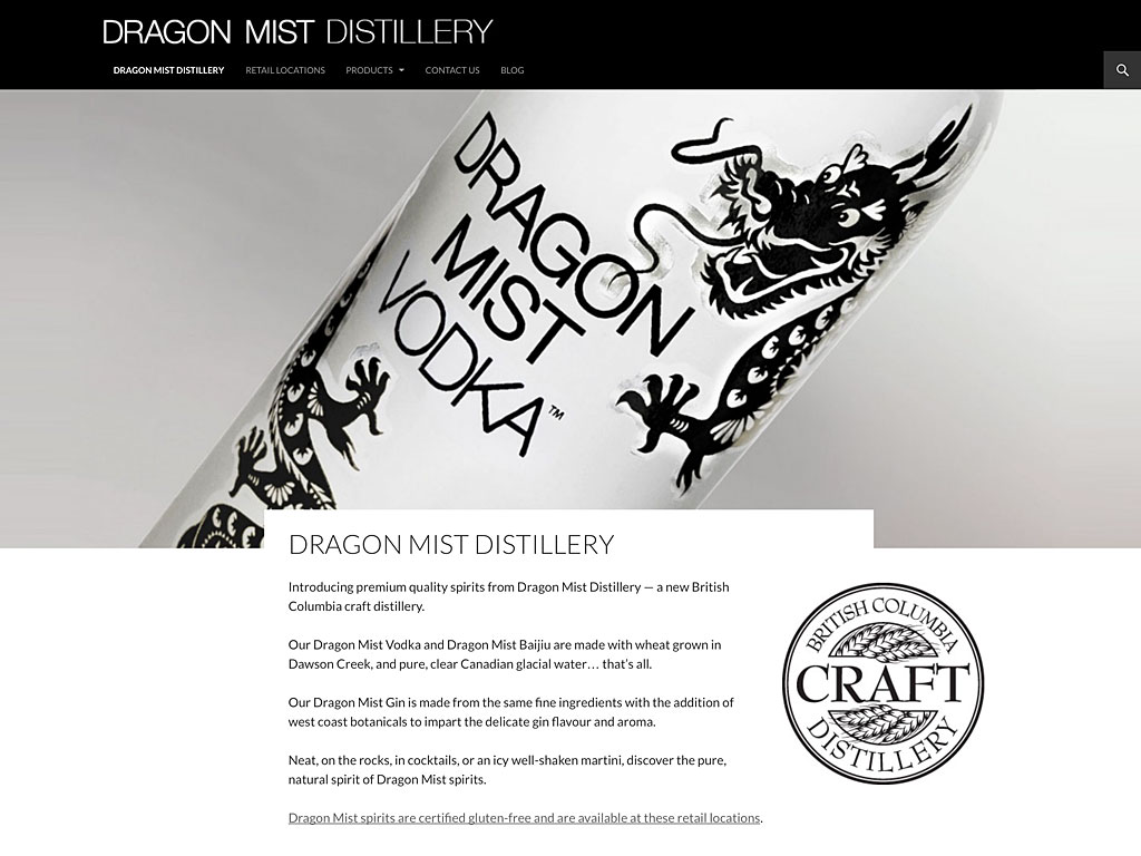 Dragon Mist homepage