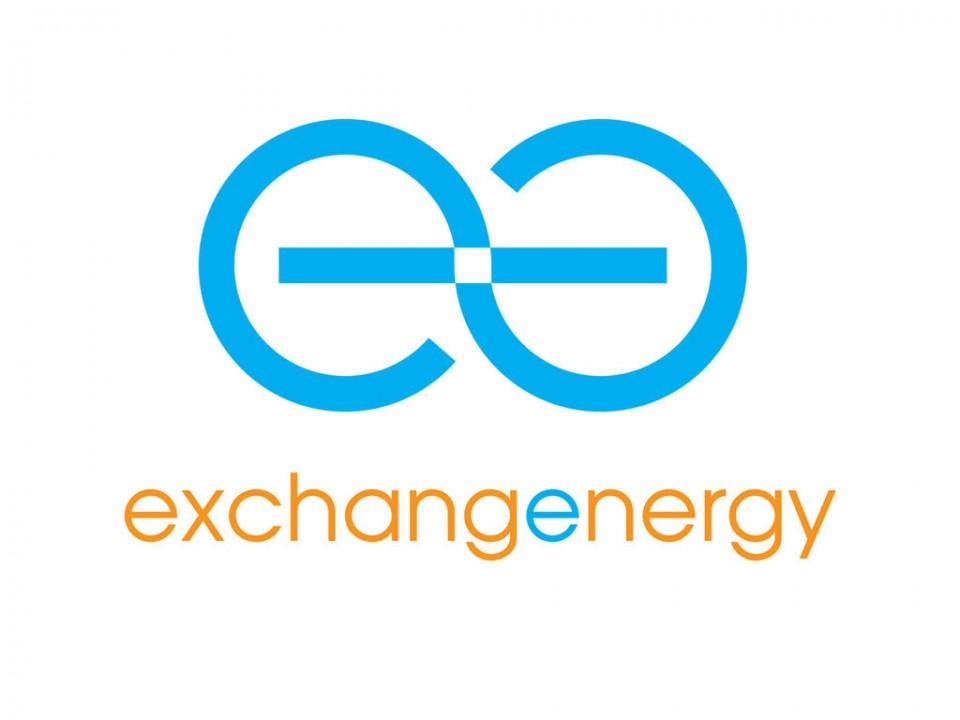 brand development and logo design for exchange energy