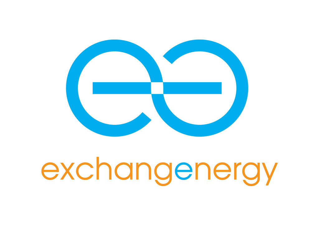 logo and brand development for exchange energy geoexchange consultants reinforces geo-exchange is the most energy efficient technology