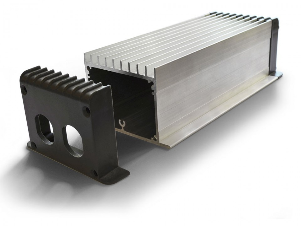 product development extruded aluminum electronics enclosure
