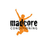 Madcore ConditioningThink sports bootcamp. The client came to us with this great name in need of a brand identity. Originally conceived as conditioning camp for youth sports, the venture has now expanded to offer the same training/conditioning for adults. Design: Kelly Brooks