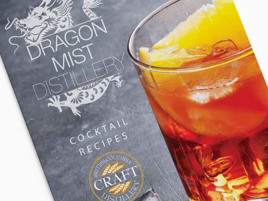 Dragon Mist cocktail recipes booklet